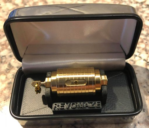 Brass Mini Key Ring